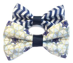 Hanukkah Bow Ties for Your Pet
