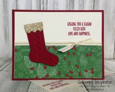 Gathering Inkspiration: Hang Your Stocking... Wishing You a Season Filled with Love & Happiness