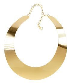H&m Necklace in Gold   Lyst