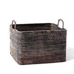 Modern Weave Oversized Storage Bin | west elm