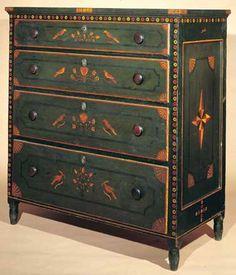 Старинная расписная мебель из Америки. Обсуждение на LiveInternet - Российский Сервис Онлайн-Дневников