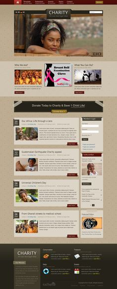 IT Charity - Premium Joomla 2.5 Template for Non-Profit Organizations