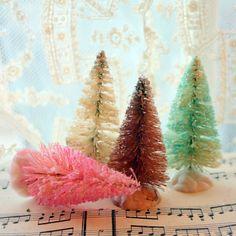 Love bristle brush trees