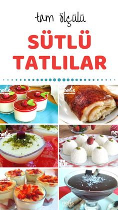 Best Easy Cake : Milk dessert recipes prepared for Turkey & # s most delectable milk . Turkish Recipes, Ethnic Recipes, Turkish Sweets, Desert Recipes, Healthy Smoothies, Food Pictures, Dinner Recipes, Yummy Food, Delicious Recipes