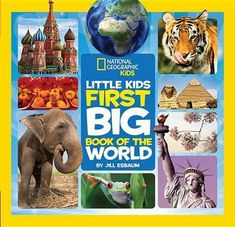 National Geographic Little Kids First Big Bks.: Little Kids First Big Book of the World by National Geographic Kids Staff and Elizabeth Carney Hardcover) for sale online Amazon Kindle, Great Books, New Books, Books 2016, Continents And Oceans, National Geographic Kids, Getting Played, Free Reading, Book Club Books