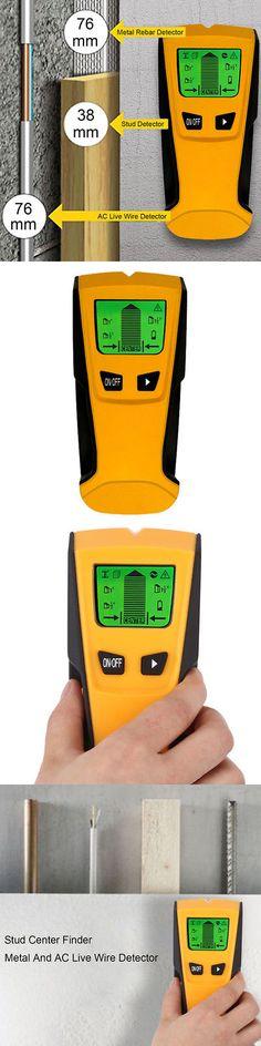 Digital Moisture Meter Water Leak Detector for Metal Wood Cable Wire Rebar