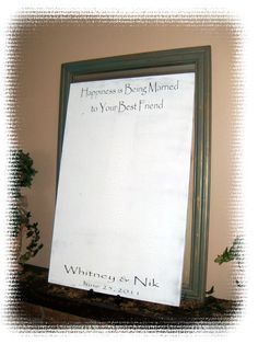 Wedding Guest Book Alternative Guest Sign in by AndTheSignSays