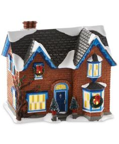 Department 56 Snow Village Gothic Revival Farmhouse Mid-Year Collectible Figurine