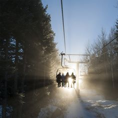 Night skiing is something you won't want to miss at Mont Saint-Sauveur!