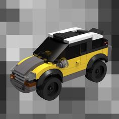 small & cool city car ↗️↗️ #legocity#legocar#legomoc#bricknetwork#legofan#yellowcar#toycar#toycarsplanet#lego_hub