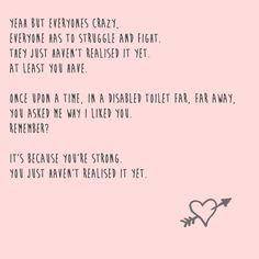 this broke my little heart.  Rae and finn !