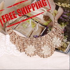 70cm fashion popular fake collar choker necklace Sequined beads women necklace #YEYULIN #Choker