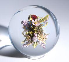 Paul Stankard Lilac Bouquet Orb, 2011