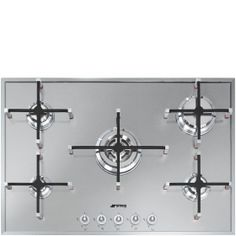 Buy Smeg Linea Aesthetic Gas Hob, Stainless Steel from our Hobs range at John Lewis & Partners. Stainless Steel Appliances, Brushed Stainless Steel, Kitchen Appliances, Kitchen Hob, Plaque Gaz, Casseroles, Herd, Home Decor Kitchen, Kitchens