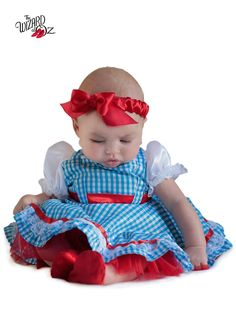 Toddler Wizard Of Oz Dorothy New Born Costume | Wholesale TV and Movie Costumes for Babies, Infants & Toddlers