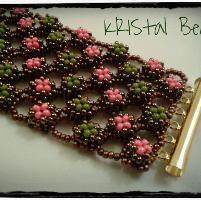 Alveoline bracelet - Free pattern! by KRIS... | Jewelry Ideas