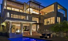 Luxury Property Design of Johannesburg, South Africa Style At Home, Villa Architecture, Architecture Company, Amazing Architecture, Home Design, Design Blogs, Modern Design, Design Styles, Property Design