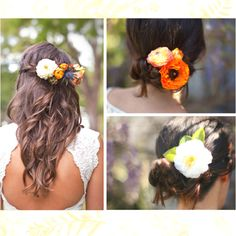 Autumn colors and textures..... how about a touch of orange to complement the navy?  (Smaller filler flower though)