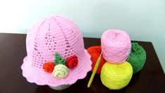 Cochet hat tutorial - Crochet for beginners step by step part 1