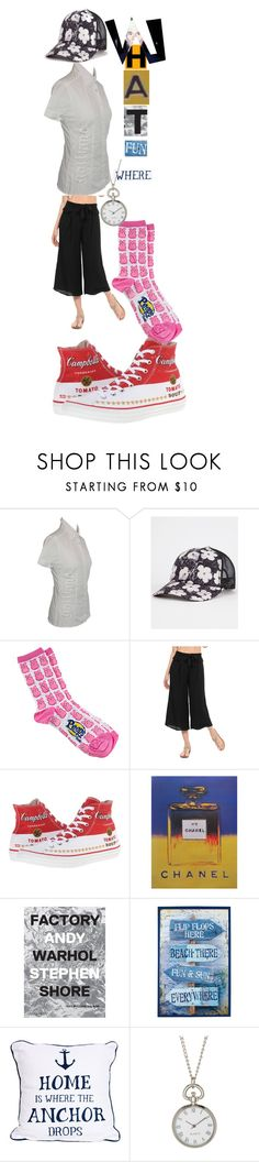 """""""embody of fun"""" by lerp ❤ liked on Polyvore featuring John Galliano, Billabong, Syndrome, Converse, Andy Warhol, Timeless by Design and Bubbly Bows"""
