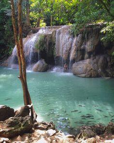 #ErawanWaterfall #Kanchanaburi #Thailand Level 2