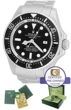 MINT 2012 Rolex Sea-Dweller Deepsea 116660 Stainless 44mm Black Date Dive Watch