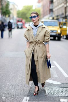 Hoodies And Trench Coats: The LFW Guide To Transitional Layering | British Vogue
