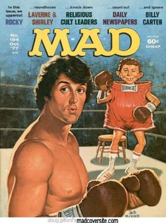 Sylvester Stallone - MAD Magazine [United States] (October 1977)