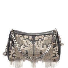 ALEXANDER MCQUEEN|Bags|Nappa Heraldic Chain Embroidery Medallion Satchel