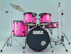 Pink Drum Set