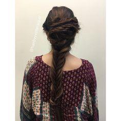 WEBSTA @ hairbyyvetteraquel - #updo on the beautiful @kira_corrin