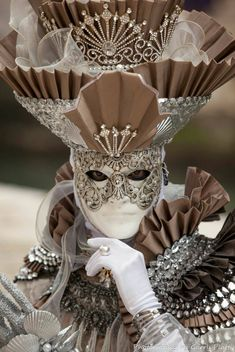 Carnavale | Silver mask