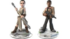Cool Star Wars Rey Toys: Disney Infinity Force Awakens add-on play set featuring Rey and Finn