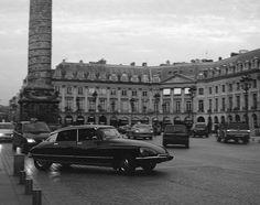 The Goddess - Citroen DS in Paris by drewleavy