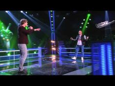 ▶ Alejandro Veenaas vs. Guus Mulder - Crazy (The Battles | The voice of Holland) - YouTube