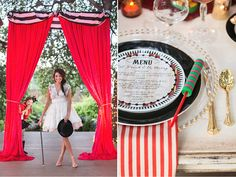 styled shoot – vintage circus with savvy events.