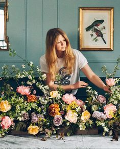 Meet some of the coolest florists in the UK right now, and their tales of how they made it and what they wore on their way. Meet some of the coolest florists in the UK right now and hear their tales of how they made it and what they wore on their way. Marian Flores, Become A Florist, Flower Arrangements Simple, Flower Studio, Peonies Garden, My Flower, Cactus Flower, Beautiful Flowers, Exotic Flowers