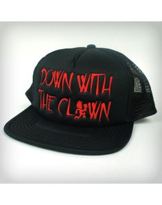 Insane Clown Posse Down With the Clown Trucker Hat I want this for myself but my lo will have to have one too