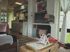 Caravan Living, Caravan Home, Caravan Interiors, Caravan Ideas, Caravan Makeover, Caravan Renovation, Vintage Caravans, Vintage Campers, Cabin Homes
