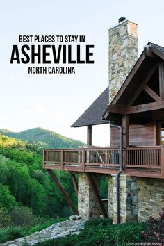 Where to Stay in Asheville North Carolina - from luxury to glamping and budget options // localadventurer.com