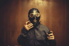 #0, Sid Wilson: | Here's A Closer Look At Slipknot's New Masks