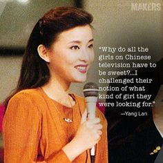 After beating out a thousand girls for a job on Chinese television, Yang Lan pushed against the cultural grain and became a household name o...
