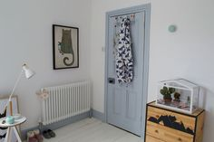 The first room in our new home is finished-take a look at our grey-blue Scandi kids room makeover and how it was before we started. Scandi Bedroom, Kids Bedroom, Bedroom Ideas, Washed Linen Duvet Cover, Minimalist Room, Kids Room Design, Nursery Design, Boy Room, Room Decor