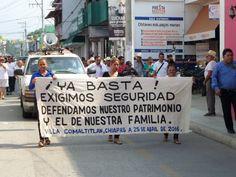 Se suman sectores sociales a la lucha contra la delincuencia en Villa Comaltitlán .http://noticiasdechiapas.com.mx/nota.php?id=83786