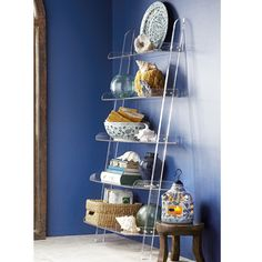 Leans Against The Wall Without Attachments, Gravity Does All The Work For  Our Acrylic Leaning Bookshelf.