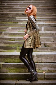Golden knight (of Cydonia) | gvozdiShe Golden Knights, Choices, Personal Style, Women's Fashion, Blog, Fashion Clothes, Fashion Women, Womens Fashion