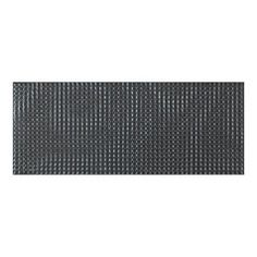 Vitra Dreamlike Matt Antracite Decor Tile. ◾Usage Kitchen, Bathroom  ◾Tile Size: 500x200x9mm ◾Type: Glazed Ceramic ◾Colour: Matt Antracite◾Suitable for: Wall www.studiodesigns.co.uk