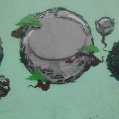 Virada sustentável  Valeu o convite @x.treet  #artesustentavel #orbitais #bonshai #arvores #sol #40° #arterueira #arteurbana #ecologia #escologia #domingo #verdequetequeroverde #tanarua #ixlutx #sr_ixlutx #graffiti #finaldatarde #semfiltro