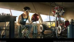 What are you building, Stark? by Victor Hugo Queiroz | 3D | CGSociety #ironman