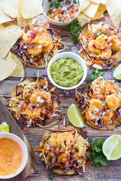These crispy, crunchy and delectable Bang Bang Shrimp Tacos are going to be on repeat on your dinner menu!